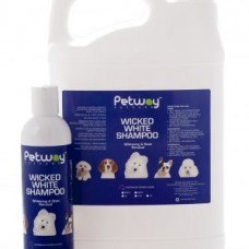 Petway Wicked White Whitening & Stain Removal Dog Shampoo 500ml