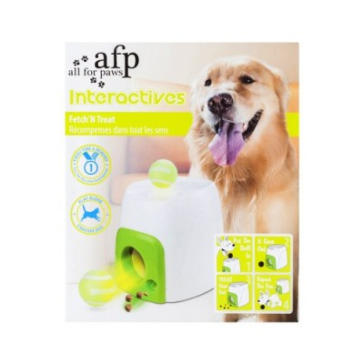 All For Paws Dog Toy Interactive Fetch N Treat