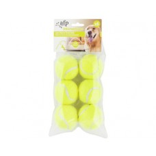 All For Paws Dog Toy Hyper Fetch Super Bounce Ball 6pk