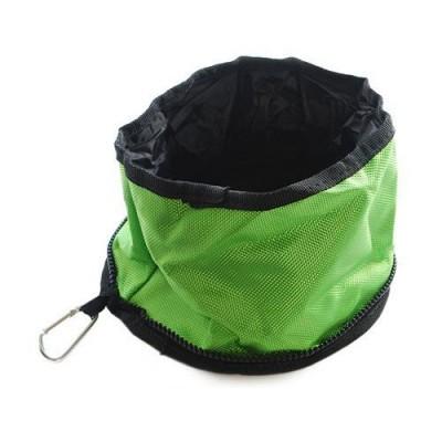Huskimo Traveller Hydration Bowl Amazon Green