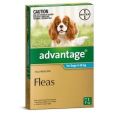 Advantage for Dogs 4-10kg 6pk