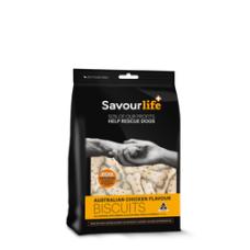 Savourlife Dog Treat Australian Chicken Biscuits 500g