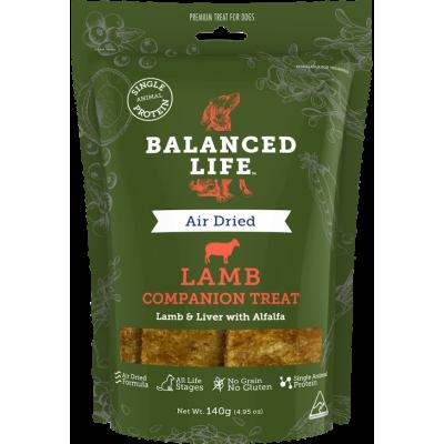 Balanced Life Companion Dog Treat Lamb 140g