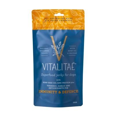 Vitalitae Superfood Jerky Immunity & Defence Dog Treats 150g