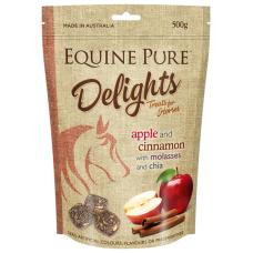 Equine Pure Delights Horse Treat Apple Cinnamon 500g