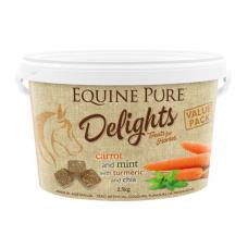 Equine Pure Delights Horse Treat Carrot Mint Turmeric 2.5kg