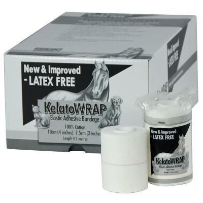 KelatoWRAP Elastic Adhesive Bandage 7.5cm x 3.2m 24pk