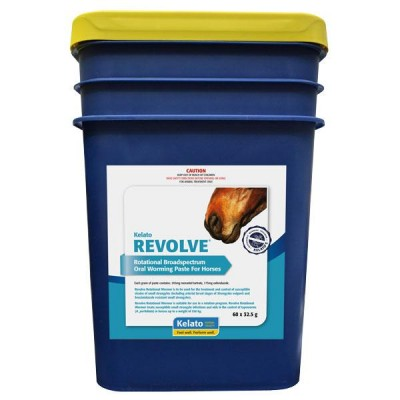 Kelato Revolve Horse Wormer Paste Pail 32.5g 60pk **SPECIAL ORDER**