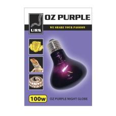 URS OZ Purple Night Globe Heat and Light 100W ** SPECIAL ORDER **