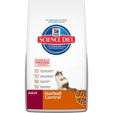 Hill's Science Diet Dry Cat Food Adult Hairball 4kg