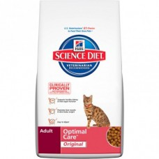 Hill's Science Diet Dry Cat Food Adult Optimal Care Original 4kg