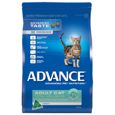 Advance Dry Cat Food Adult Chicken 20kg