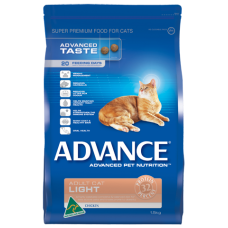 Advance Dry Cat Food Light 3kg