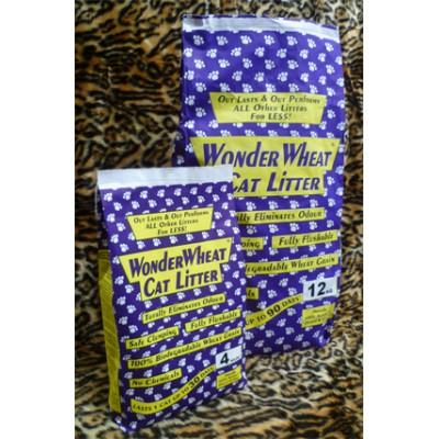 Wonderwheat Cat Litter 12kg