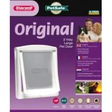 Staywell Original 2 Way Pet Door Grey Small