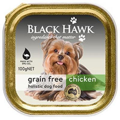 Black Hawk Grain Free Wet Dog Chicken 9x100g