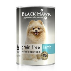 Black Hawk Grain Free Wet Dog Lamb 12x400g
