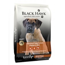 Black Hawk Puppy Large Breed Chicken & Rice 20kg