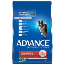 Advance Dry Dog Food Active Chicken 20kg