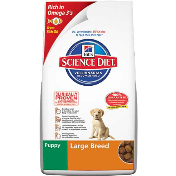 Hill's Science Diet Puppy Large Breed Dry Dog Food