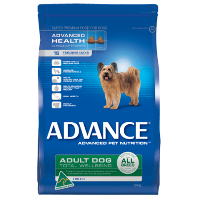 Advance Dry Dog Food All Breed Chicken 20kg