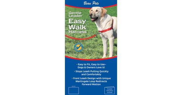 Beaupet Gentle Leader Easy Walk Harness Blue Xlarge