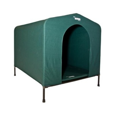 Hound House Canvas Dog Kennel Large Green
