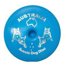 Aussie Dog Disc Soft Blue 24cm