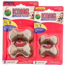 Kong Marathon Treat Refill 2pk Large