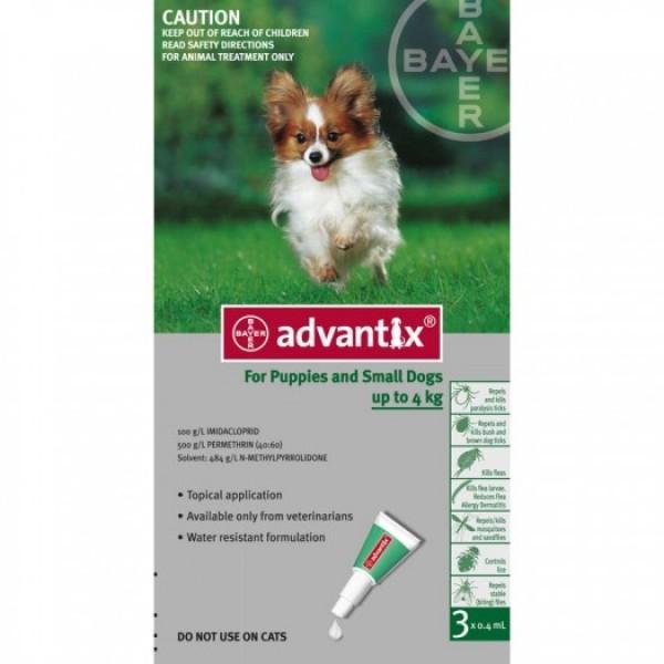 Advantix Dose For Small Dogs