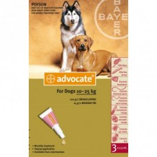Advocate for Dogs 10-25kg 6pk