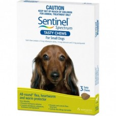 Sentinel Chews for Dogs 4-11kg 6pk