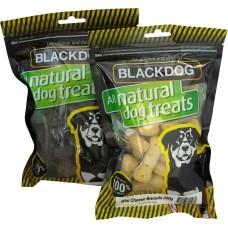 Blackdog Mini Charcoal Biscuits Dog Treats 200g