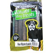 Blackdog Roo Sticks Dog Treats 6pk