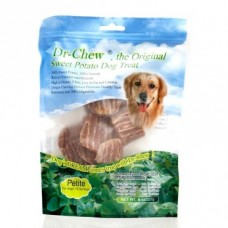 Dr Chew Sweet Potato Dog Treats Petite 454g